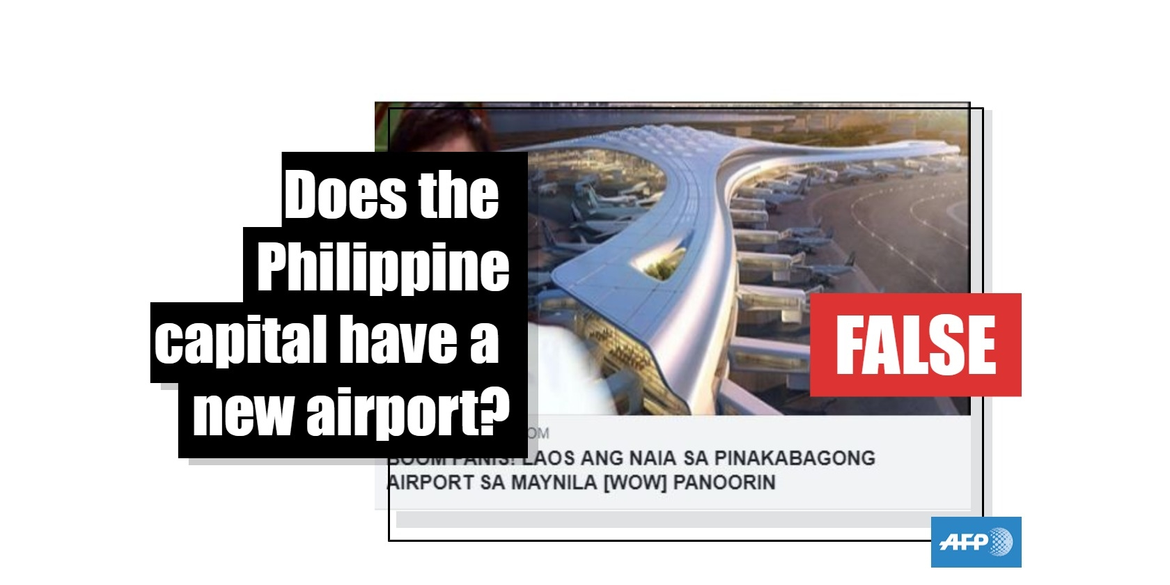 No, the Philippine capital does not have a new airport