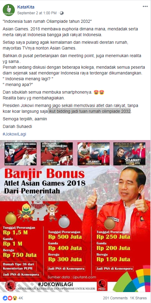 No, Indonesia has not been chosen to host the 2032 ...
