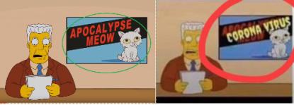 Resultado de imagem para simpsons apocalypse meow