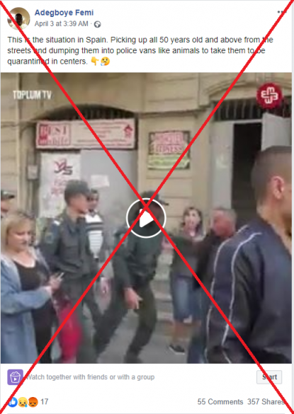 This Video Was Shot In Azerbaijan In October 2019 During An Anti Government Protest Fact Check