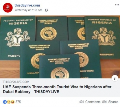 No, the UAE has not banned three-month tourist visas for