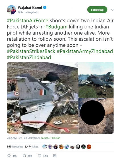 No, these two photos do not show Indian Air Force jets shot