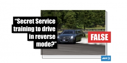 No This Video Does Not Show Us Secret Service Agents Training To Drive In Reverse Mode Fact Check