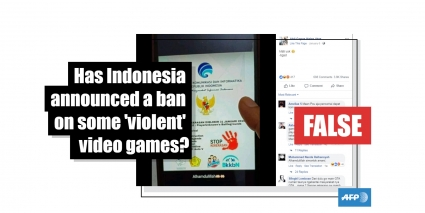 No, Indonesia has not announced that it will ban some online