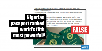 Nigeria S Passport Remains In 95th Place In The Henley Passport Index Countries Have Not Eased Travel Curbs Fact Check