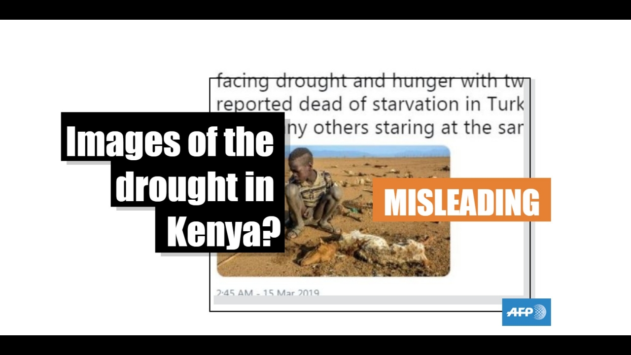 Kenya: Be careful, old photos are being used to illustrate the
