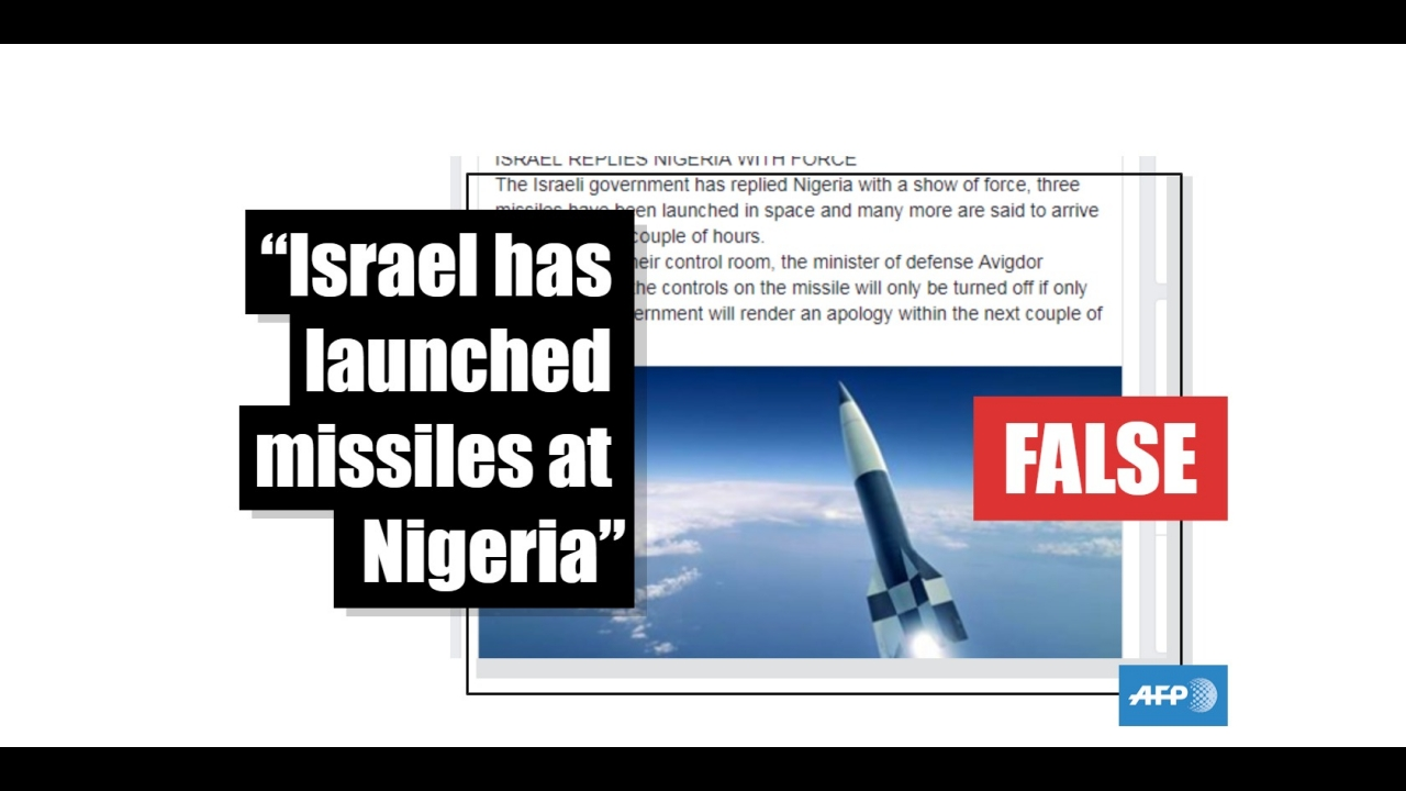 Nigeria and Israel are not about to go to war over pro