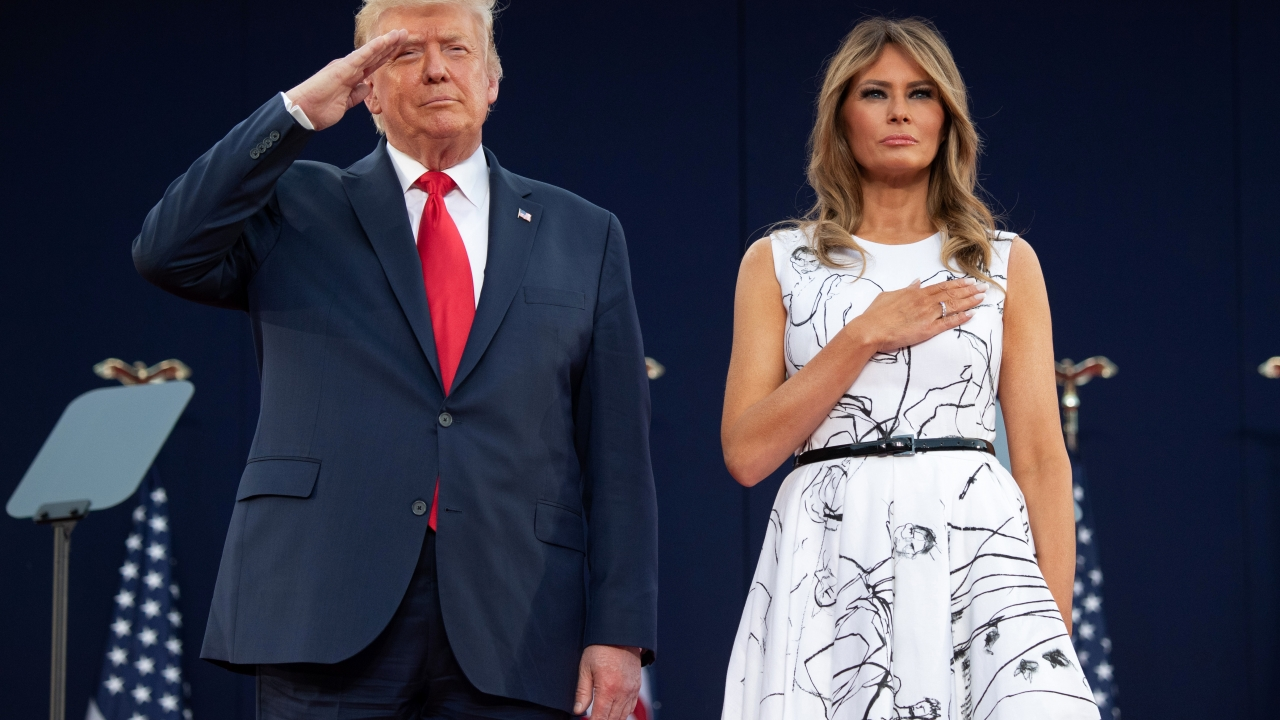 Melania Trump S Dress Did Not Feature Drawings By Child Sex Abuse Victims Fact Check